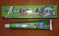 Зубная паста на основе натуральных трав и жидкого турмалина Вековой Восток