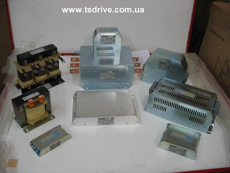 Фильтры помехоподавляющие силовые сетевые одно- и трехфазные 6 - 1600 А
