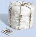 Канаты полипропиленовый тросовой свивки  ГОСТ 30055-93, аналог TWISTED POLIPROPYLENE ROPES