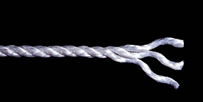 Сердечники из синтетических  материалов (POLIPROPYLENE CORE, THREE-CPIN-LINE) трехрядные ГОСТ 5269-93 CORE IS HEMP, THREE-CPIN-LINE