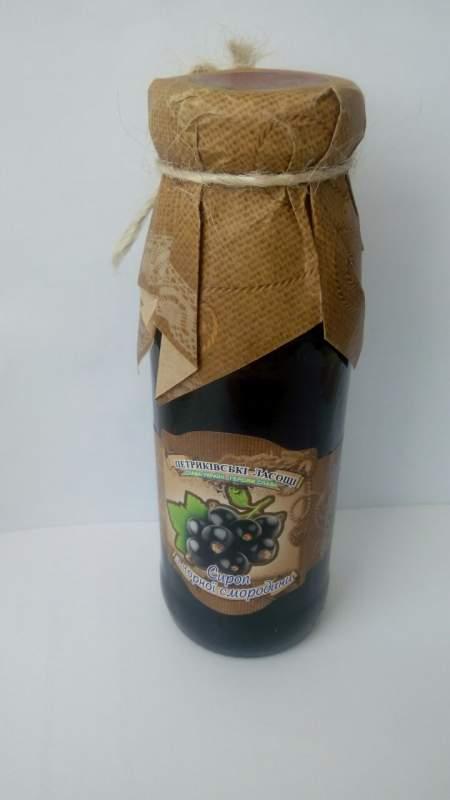 Купить Сироп Черная смородина 100% натуральный