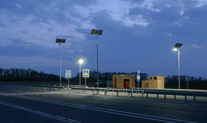 Система SUNENERGY™ для автономного освещения пешеходных переходов