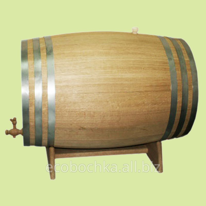 Купить Бочка дубовая для вина и коньяка