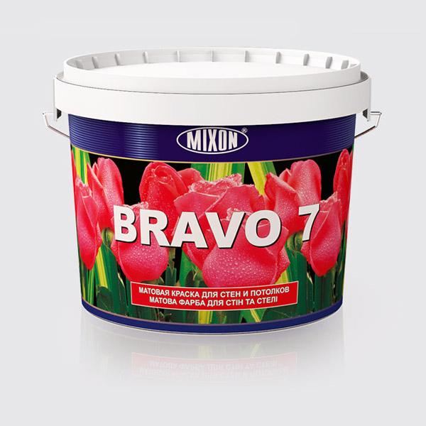 Купити Матова фарба для стін Mixon Bravo 7, 5 л