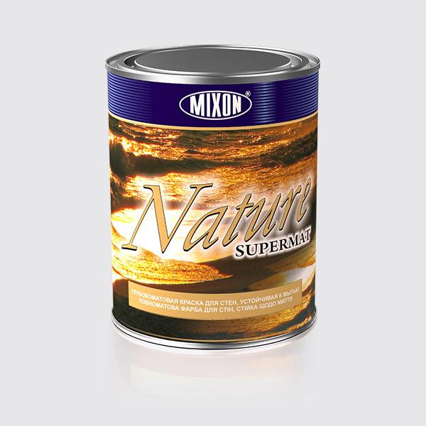 Купить Глубоко матовая краска для стен Mixon Nature Supermat, 1 л