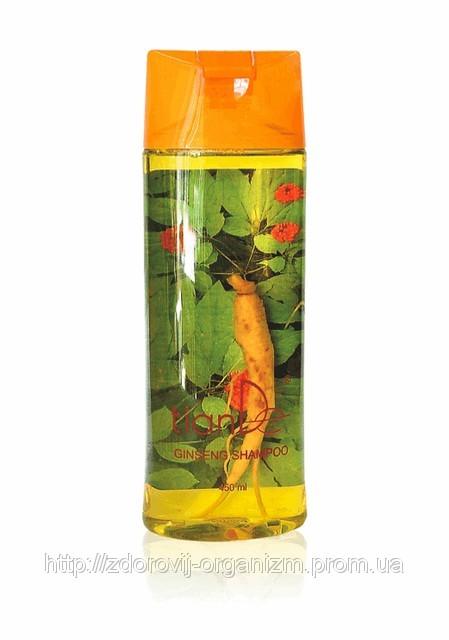 Питательный шампунь с натуральным корнем женьшеня внутри из рецептов китайской медицины