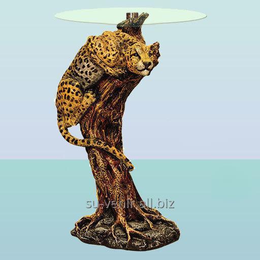 Стеклянный столик Ягуар (А)