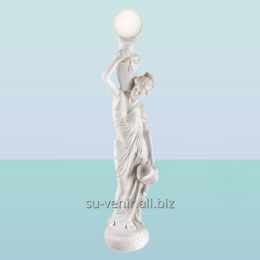 Интерьерный светильник статуя Девушка с кувшином