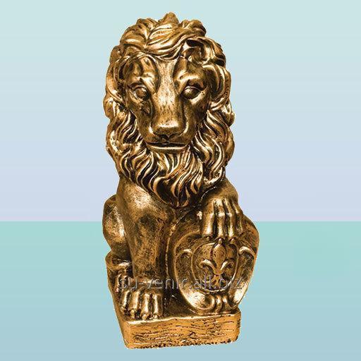 Садовая скульптура Лев правый