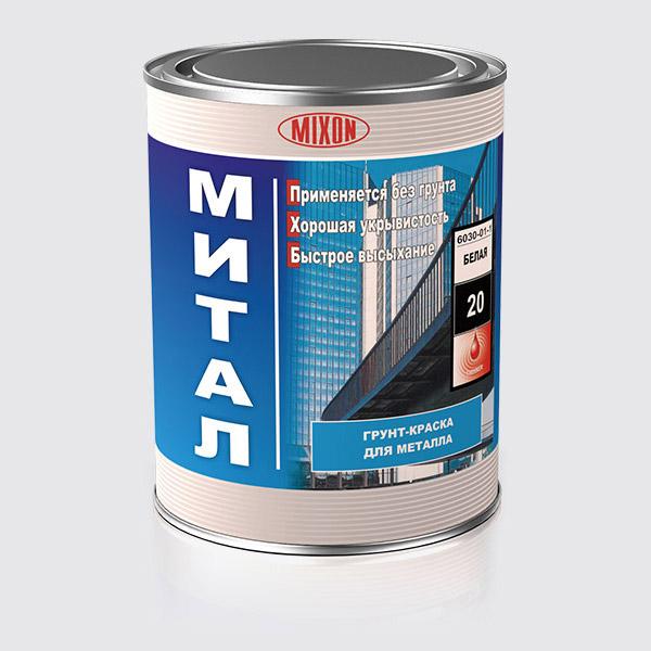 Buy Soil paint on metal Mittal of 1 l