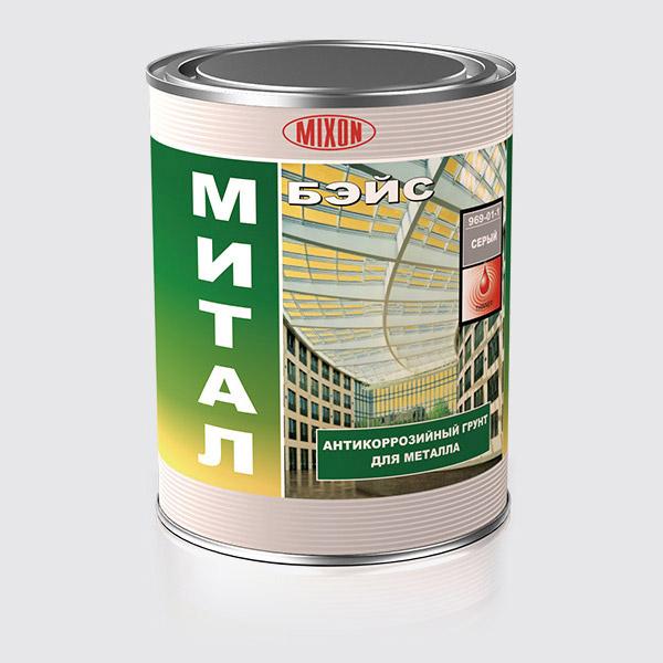 Buy Anticorrosive tiksotropny Mixon soil of Mittal Beys of 1 l