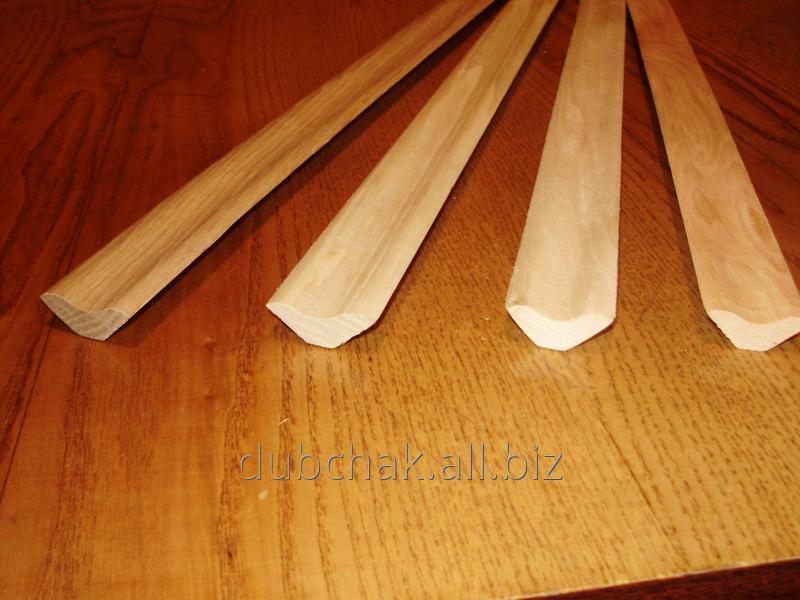 Купить Плинтус хвойный (для потолков и внутренних углов) 25 мм