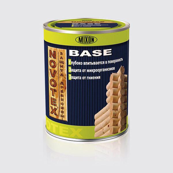 Купити Деревозащитное ґрунтувальний засіб NOVOTEX BASE 1л