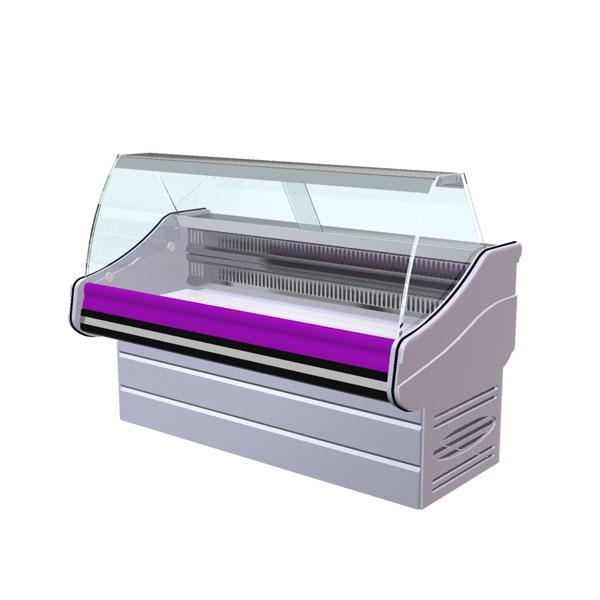Витрины холодильные среднетемпературные, эконом класс, Блюз-эконом