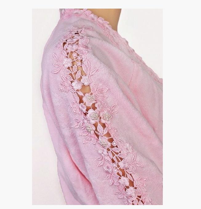 Women\'s Masal Soft Cotton dressing gowns (pink) buy in Kiev
