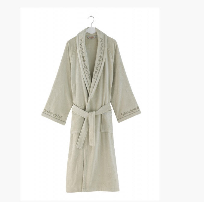 Men\'s Baron Soft Cotton dressing gowns (light-olive) buy in Kiev