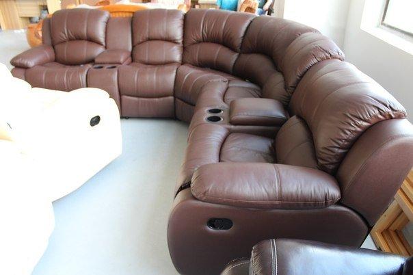 кожаный диван угловой K 126 купить в одессе