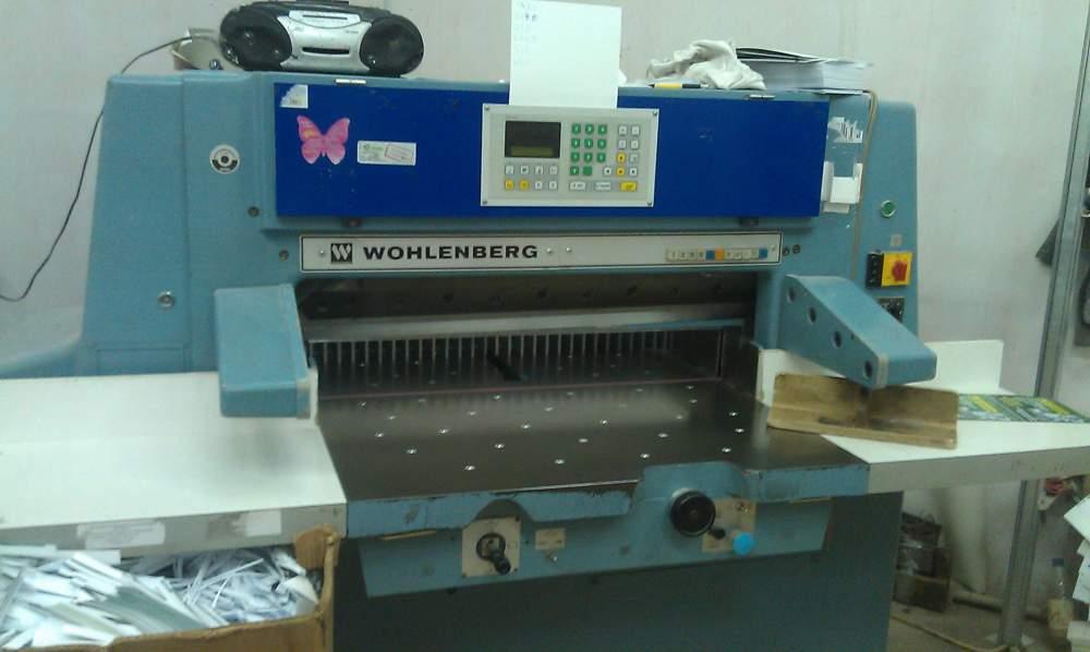 Buy One-knife paper cutting machine WOHLENBERG 92