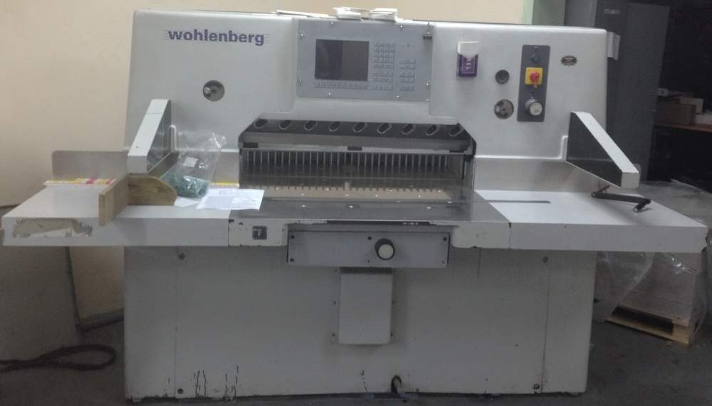 Buy One-knife paper cutting machine WOHLENBERG 92