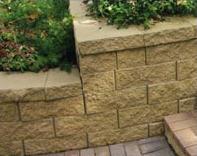 Купить Камень бетонный опорный (террасный) Прямой скол