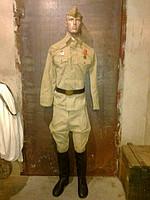 Форма армейская солдатская 40-50 годов