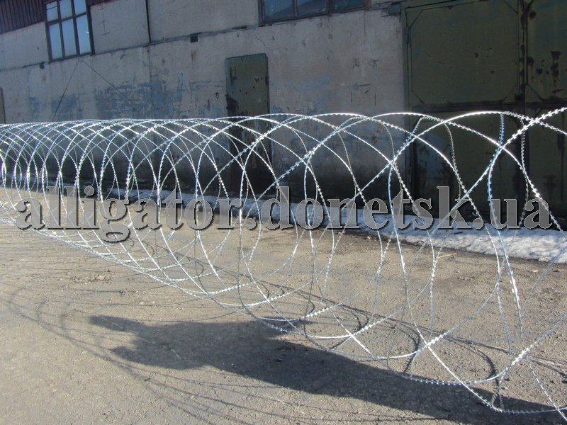 Buy Protection of objects, barbed wire the Fidget, an obstacle the prickly cutting ZKR the Fidge