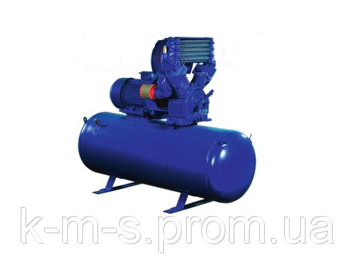 Поршневой компрессор ЭПКУ 3,5/7-01 (ресивер 500л.) прямой привод
