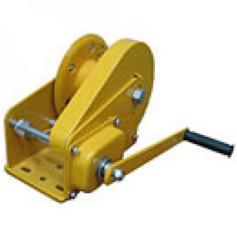 Лебедка ручная тяговая c тормозным фиксатором