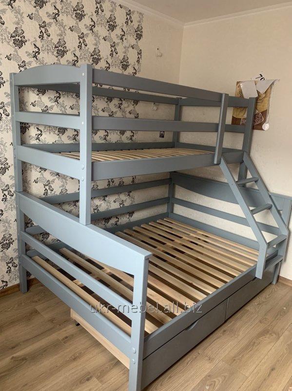 Купить Кровать двухъярусная Барс