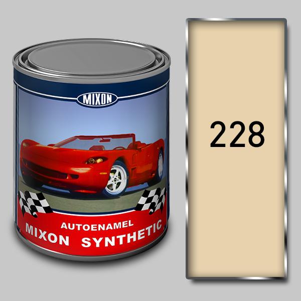Купить Алкидная автомобильная краска Mixon Synthetic, Чайная роза 228, 1 л