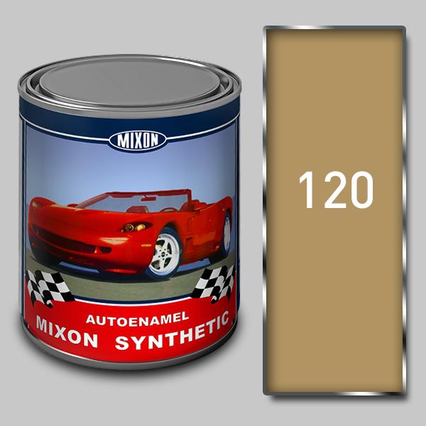Купить Алкидная автомобильная краска Mixon Synthetic, Гоби 120, 1 л