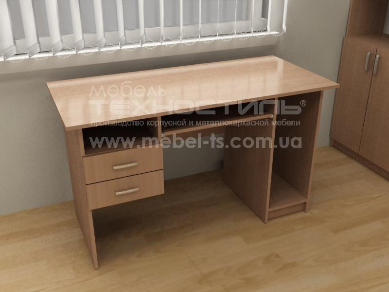 Стол компьютерный с ящиками (П 562)