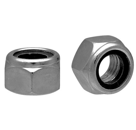 Гайка стопорная с нейлоновым кольцом DIN985