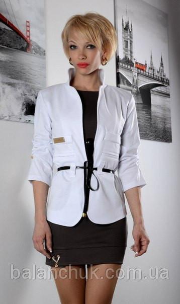 Піджак білий Фешен купити в Одеса 646d557341807