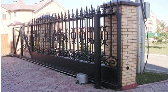 Раздвижные ворота цена в киеве воротадизаин
