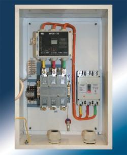 Станция управления трехфазным асинхронным электродвигателем - Роса 55Р