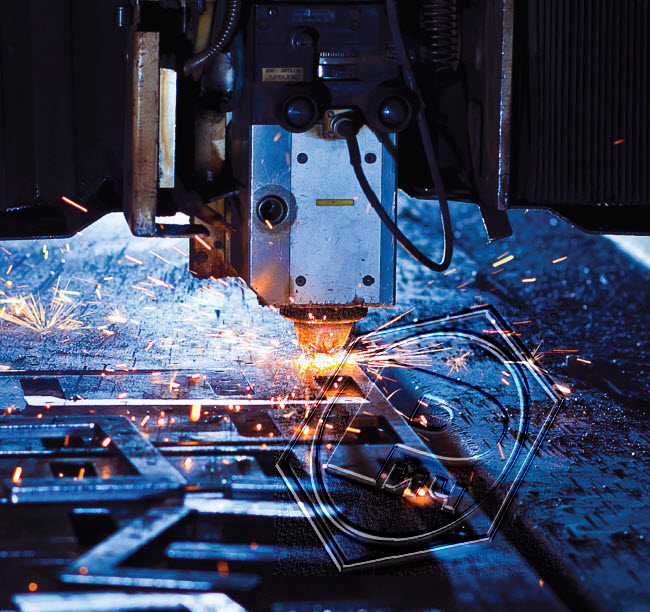Услуги по резке металла на машина термической резки (МТР) «Hypertherm»