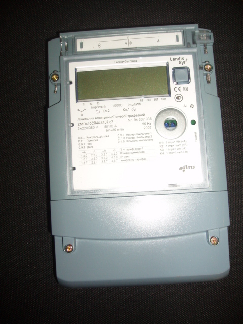 Счетчики многотарифные ZMD, ZMG назначение, номеклатура и маркировка