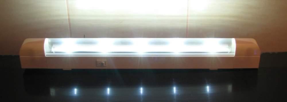 Светильник на светодиодах для хозяйственных, рабочих и подсобных помещений