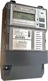 Счётчик электроэнергии многофункциональный Меркурий 233