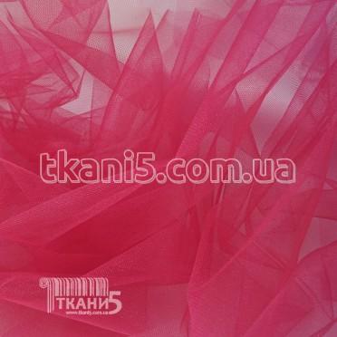 Купить Ткань Фатин crystal трехметровый (малиновый)