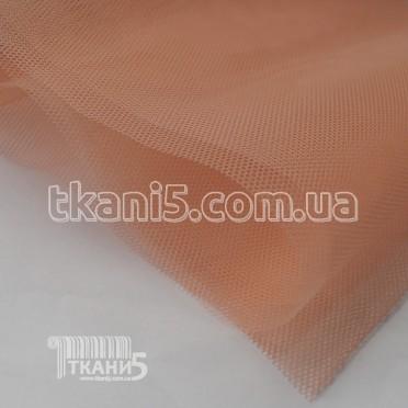 Купить Ткань Фатин жесткий (персиковый)