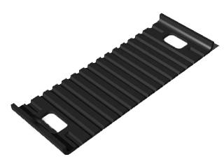 Купить Подрельсовая прокладка ОП-356 (ПРБ-1) для повышения продольной устойчивости рельсов и динамических нагрузок на магистральных путях