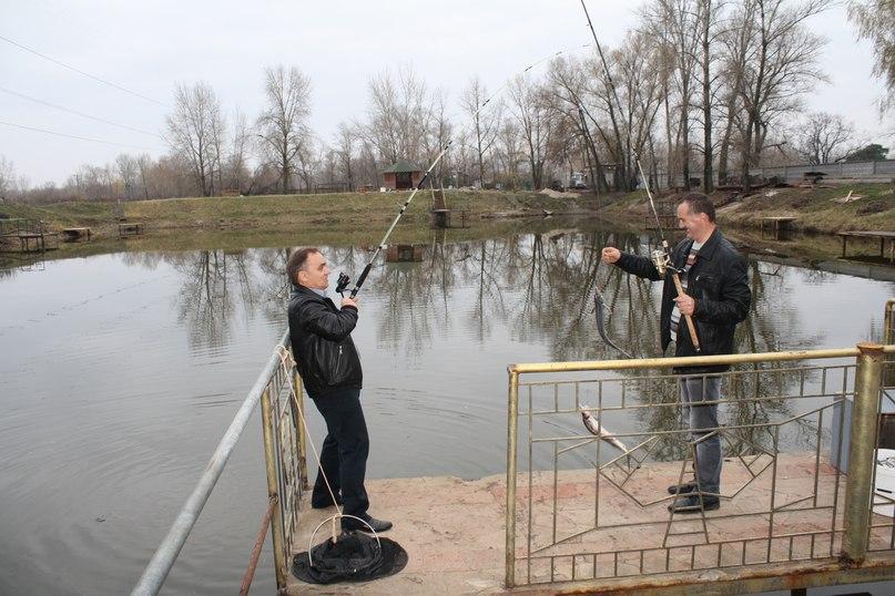 как разводить форель в озере видео