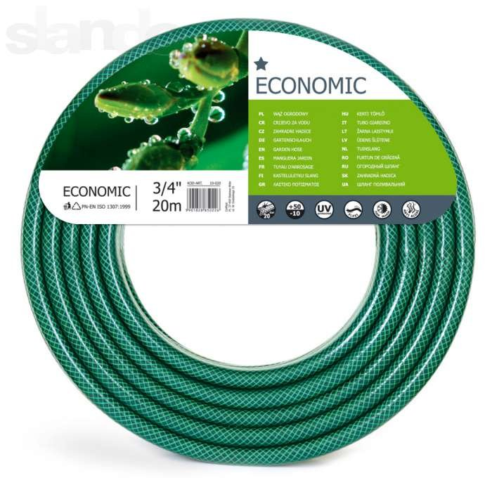 "Buy Hose watering 3-layer 3/4"" (19 mm), Economic, Poland!"