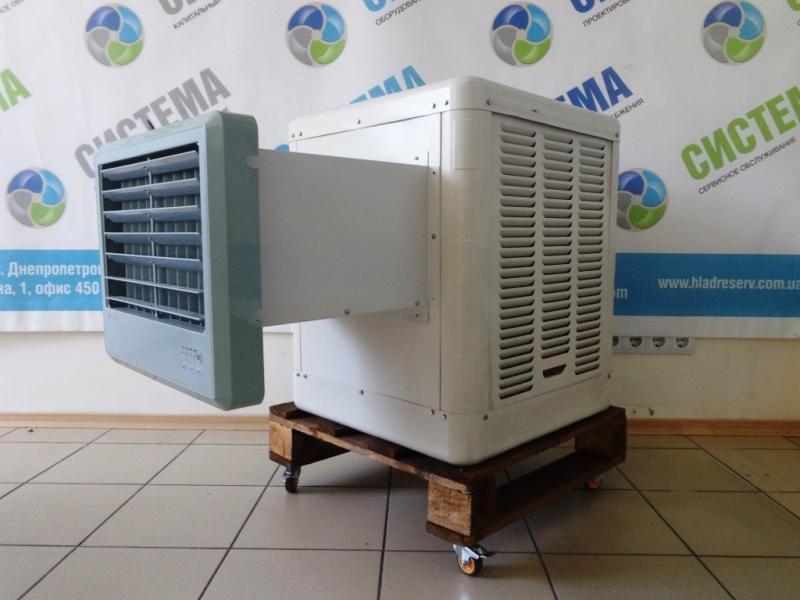 Биокондиционер. Испарительный охладитель воздуха S3
