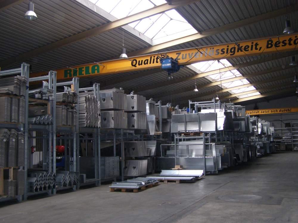 Конструкции складских хранилищ