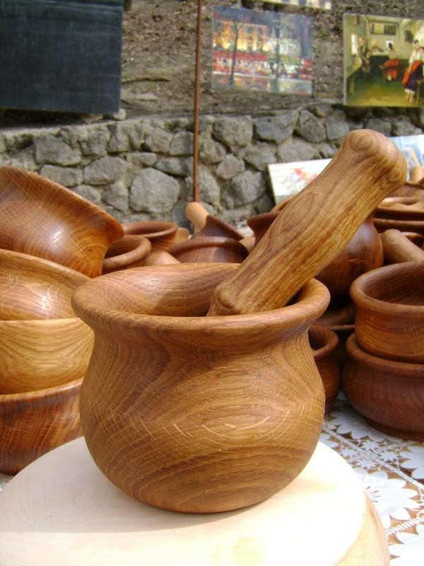 Купить Посуда деревянная для кухни
