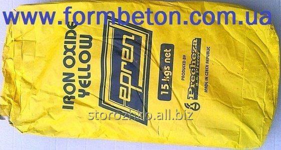 Купить Краситель для бетона желтый Жёлтый Y-710 чехия