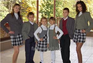 Форма школьная  для мальчиков и для девочек из натуральных и смесовых тканей